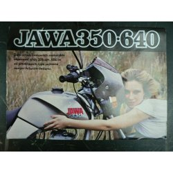 Plakát Jawa 350/640