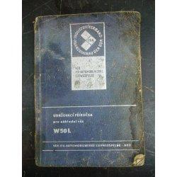 IFA W50L - Udržovací příručka