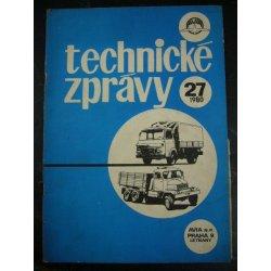 Avia - Technické zprávy 27