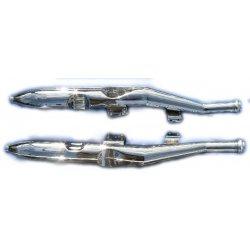 Exhaust silencer - Jawa Libenak - CZ - set