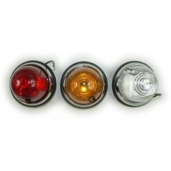 Turn signal, side light - Jawa, ČZ, Velorex, Škoda - various colors
