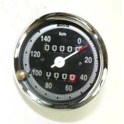 Speedometer - VDO with trip counter - Jawa Libenak