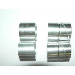 Front fork bushes - 4-unit - ČZ - aluminium