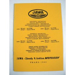 Spare parts catalogue - Jawa 579, 575 Libenak - picture supplement