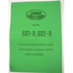 Spare parts catalogue - Jawa Bitrak - supplement