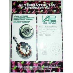 Leaflet - VAPE: alternátor 14V