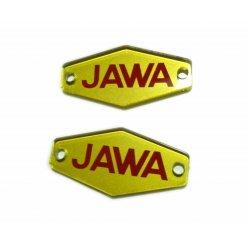 Jawa 90 - znaky na nádrž