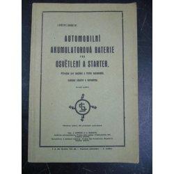 Automobilní akumulátorová baterie