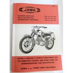 Jawa Banán - katalog ND a návod k obsluze