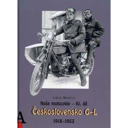 Buch: Naše motocykly - IV. díl - Československo G-L
