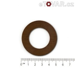 Friction washer - pertinax - 50/30 x 1,5 mm