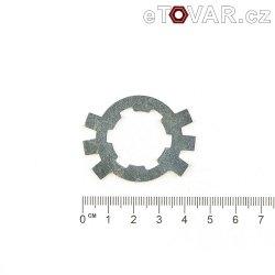 Zajišťovací podložka řetězového kola sekundáru - Jawa 250, 350 ccm