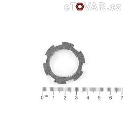 Nut for chain wheel secondary - Jawa - chainwheel 15, 16 cogs