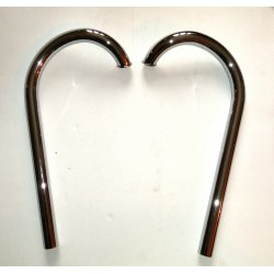 Exhaust pipe - Jawa 175 Special - pair