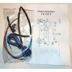 Wiring harness - ČZ 125 B, T