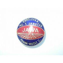 Smaltovaný znak JAWA Praha Nusle II