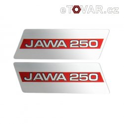 Sticker - Jawa Bizon - for fuel tank - two options