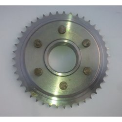 Rear sprocket - ČZ 150 C - complete