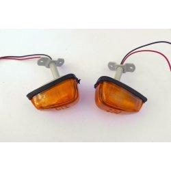 Turn signal - Jawa Bizon - rear, with bracket
