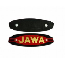 Logo on tank - Jawa Panelka, Californian - export