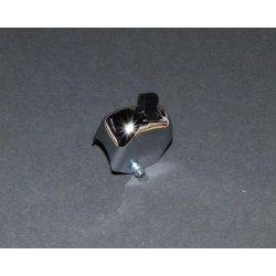 Přepínač na řídítka - blinkry - bez bočního výřezu pro kabel - chrom
