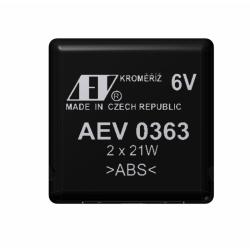 Přerušovač blinkrů elektronický - 6V / 2x21W