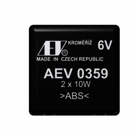 Flasher unit electronic - 6V / 2x10W