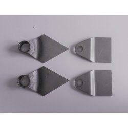 Fuel tank brackets - Jawa Californian, Libenak - for mounting to silentblock