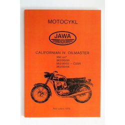 Spare parts catalogue - Jawa 362/00 Californian