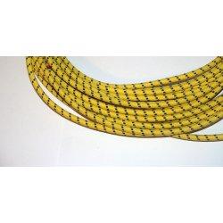 Hochspannungskabel für Zündkerze - Textilkabel - 10 cm - verschiedene Farben