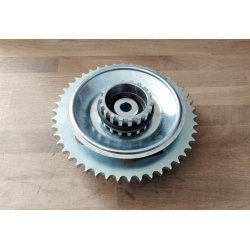 Rear sprocket - Jawa Kyvacka - laser cut - 46 teeth - complete