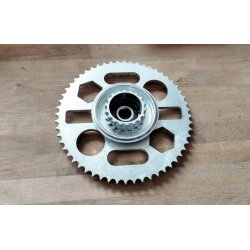 Rear sprocket - ČZ 473, 470, 475 Sport - laser cut - 56 teeth - with carrier