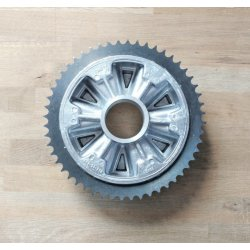 Rear sprocket - Jawa Bizon, 634 - 640, ČZ 477, 487, 471 - 52 teeth
