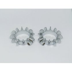 Clamp for exhaust pipe - ČZ 150 C - pair - two options