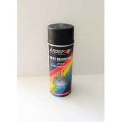Heat resistant paint in spray - black - 800 °C